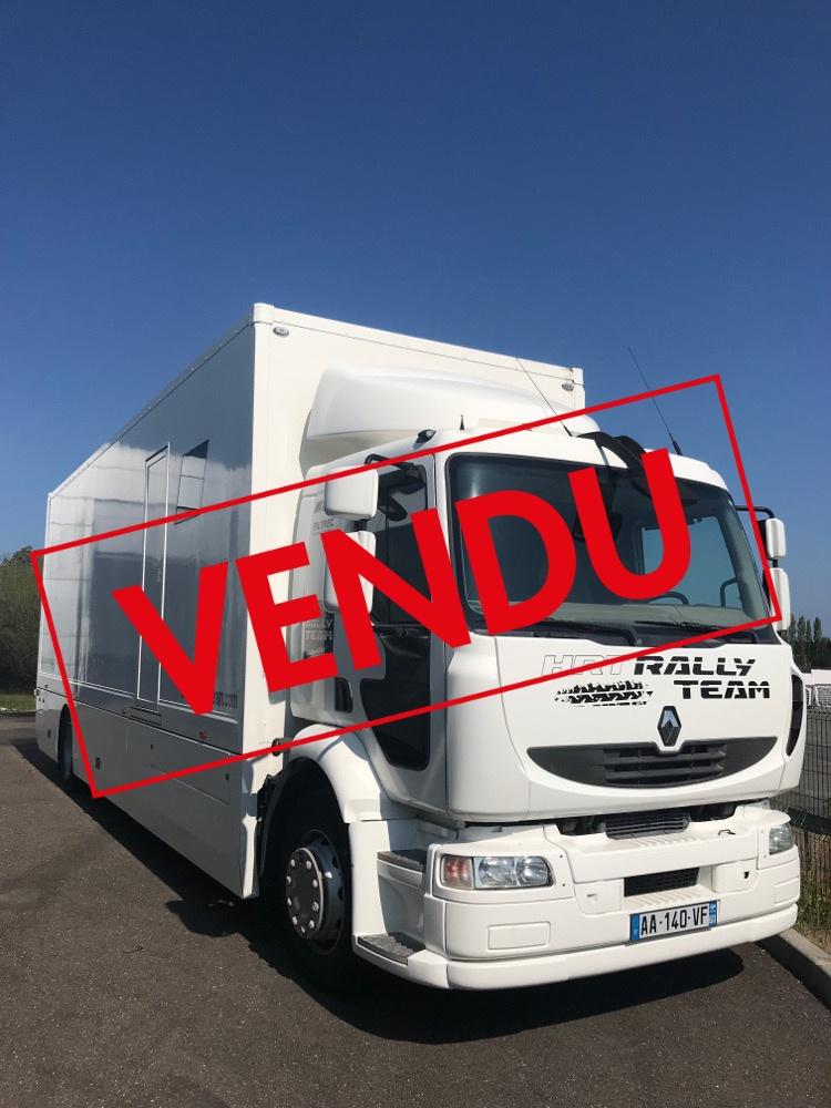 Camion Porteur Renault Midlum 280cv