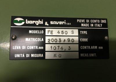 Banc de puissance Borgi et Saveri 6