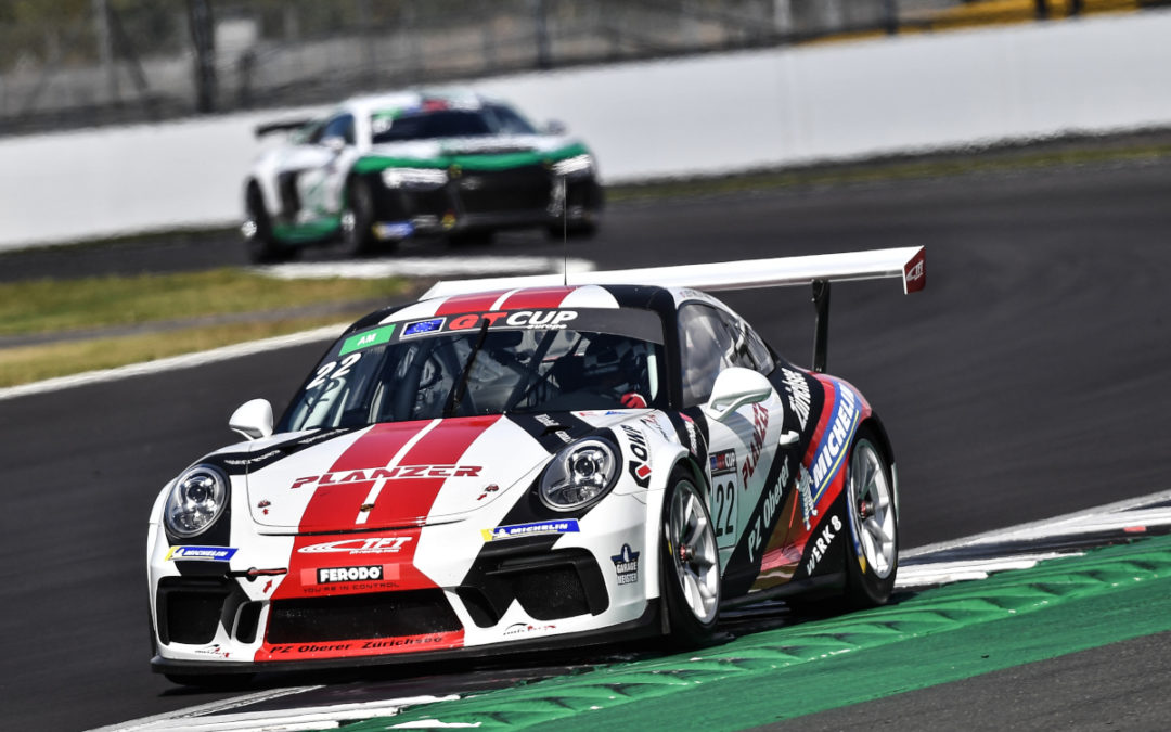 GT Cup Open – Silverstone : toujours leader !