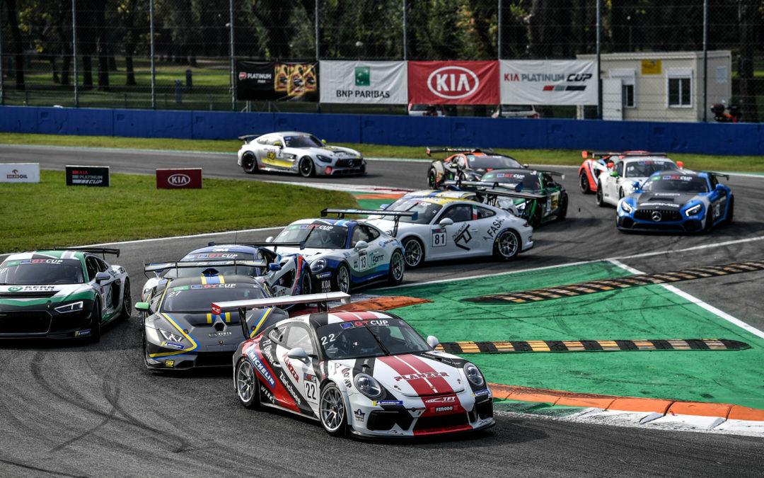 GT Cup Open – Monza : Champion AM !