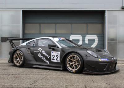 Porsche GT3R Stands